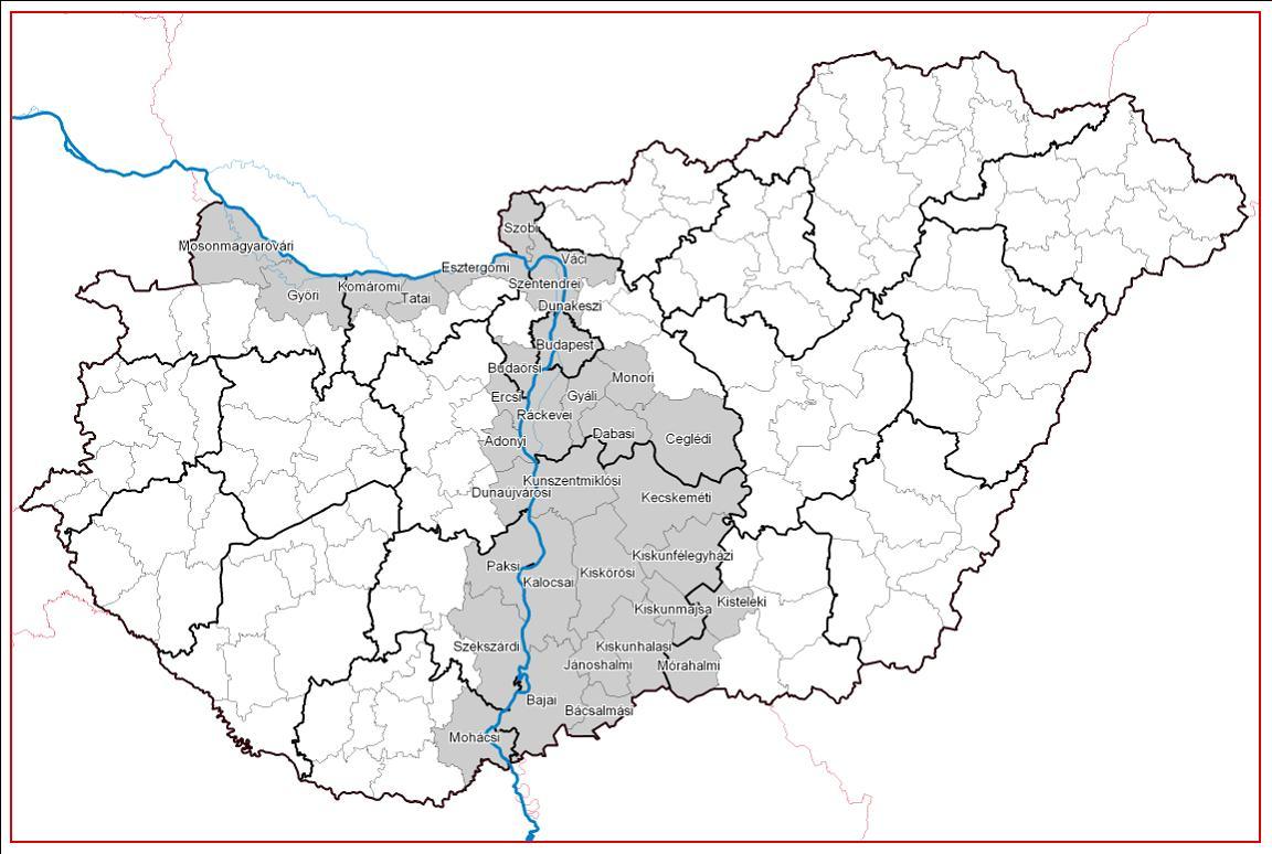 magyarország térkép duna Reális Zöldek Klub | Content| Európai Duna Stratégia   Budapest  magyarország térkép duna