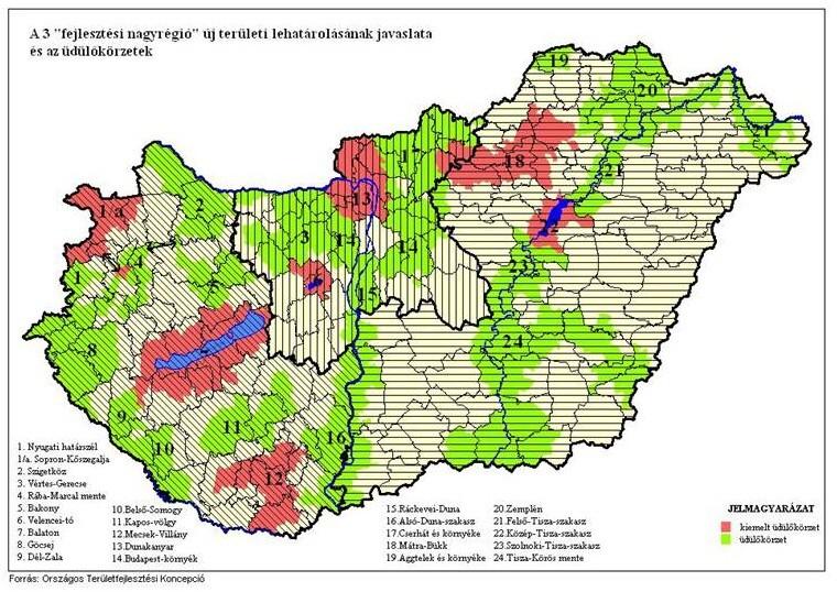 forgalom térkép Reális Zöldek Klub   Javaslat a közigazgatási rendszer  forgalom térkép