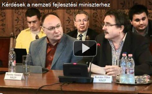 Kérdések a nemzeti fejlesztési miniszterhez – 2.