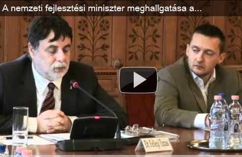 A nemzeti fejlesztési miniszter meghallgatása a Gazdasági bizottságban – 3.