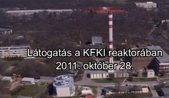 Látogatás a KFKI kutatóreaktorban