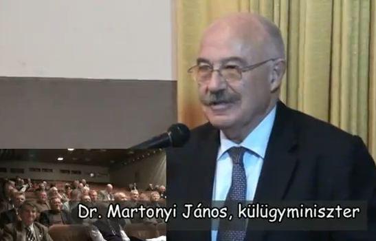 Dr. Martonyi János külügyminiszter a GGTSZ-ben