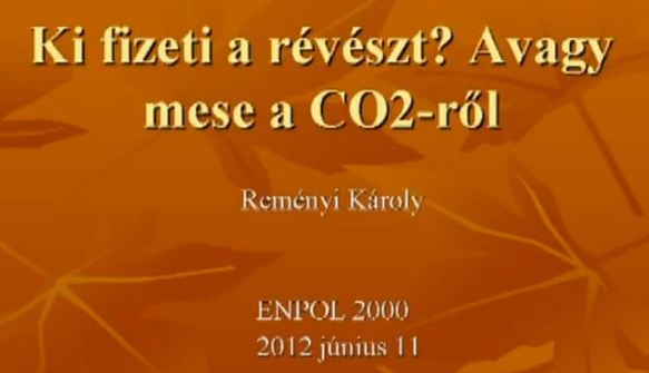 2012.06.11. Enpol Hétfő Este, Reményi Károly akadémikus előadása