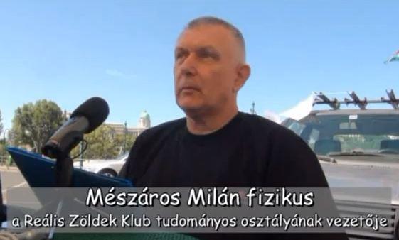 Interjú Mészáros Milán fizikussal