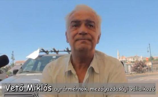 Beszélgetés Vető Miklós agrármérnök, mezőgazdasági vállalkozóval