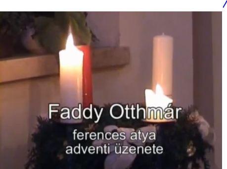 Faddy Otthmar advent második vasárnapján