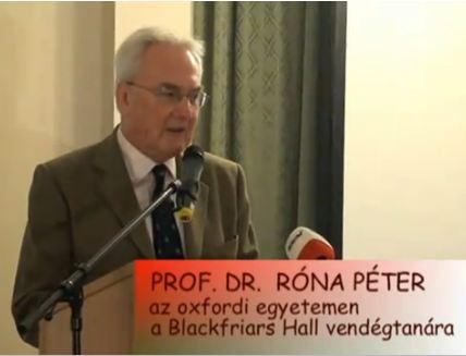 Róna Péter előadása a GTTSZ konferencián 2010.12.09.