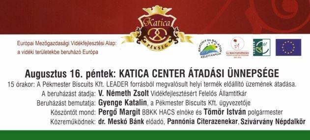 V. Németh Zsolt államtitkár a Katica Center megnyitóján