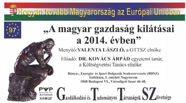 A magyar gazdaság kilátásai a 2014. évben