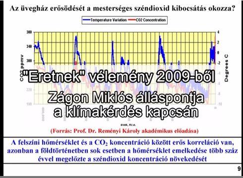 Zágoni álláspontja 2009-ből