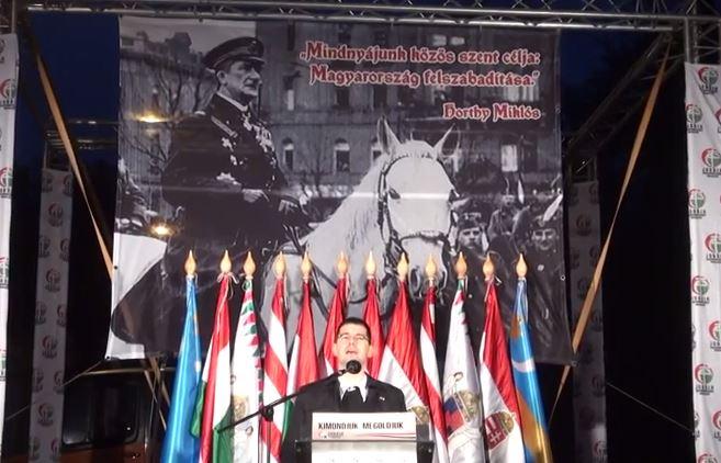 Horthy megemlékezés Jobbik 2014.11.16.