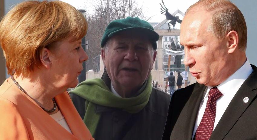 Reális Zöldek Merkel, Putyin látogatására