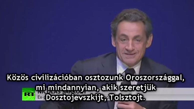 Nicolas Sarkozy: Krím Oroszországot választotta és ezért nem hibáztathatjuk