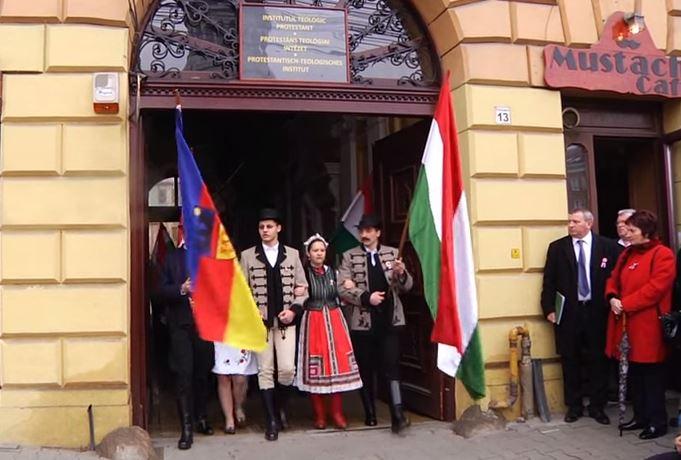 Kolozsvár, 2015. március 15-én