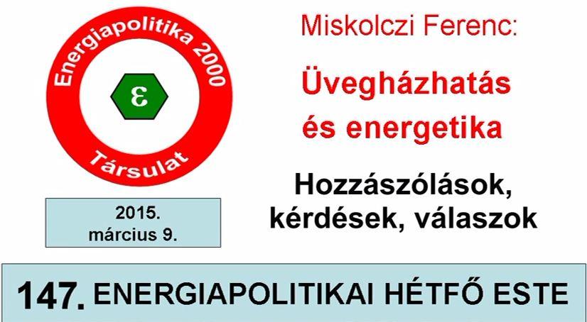 A  Magyar Nemzet elhallgatta! hozzászólások Miskolczi Ferenc előadásához