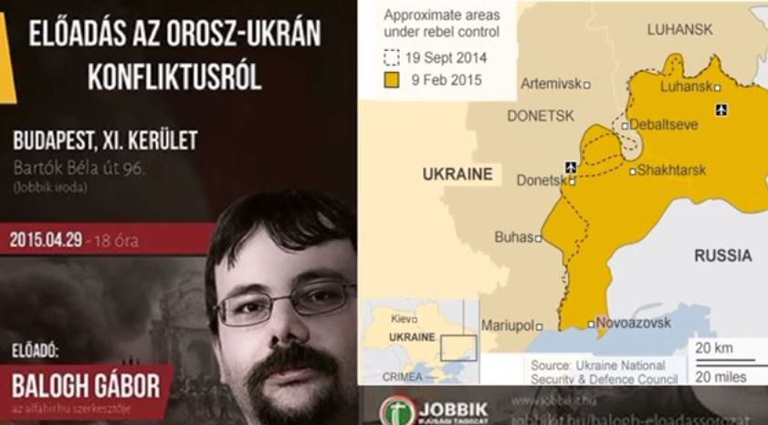 Előadás az ukrán orosz viszonyról