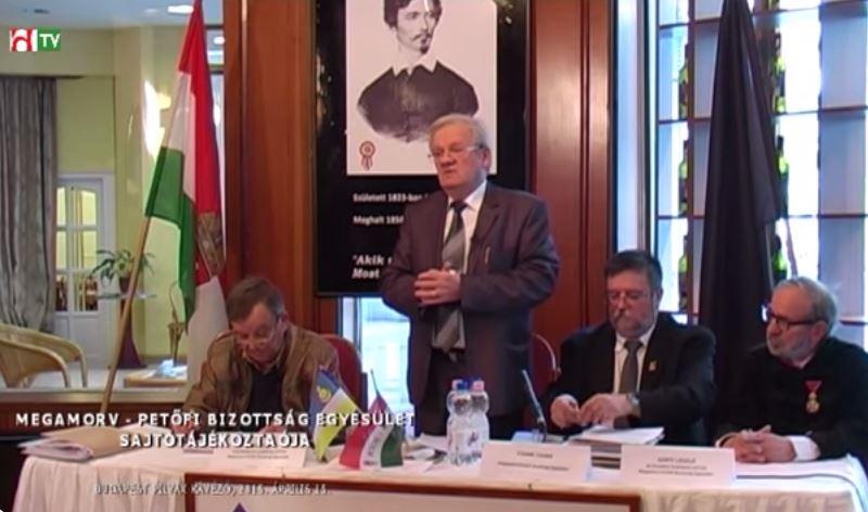 MEGAMORV – PETŐFI Bizottság sajtótájékoztatója – PILVAX 2015.04.15.