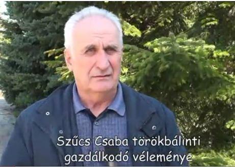 Szűcs Csaba törökbálinti gazdálkodó
